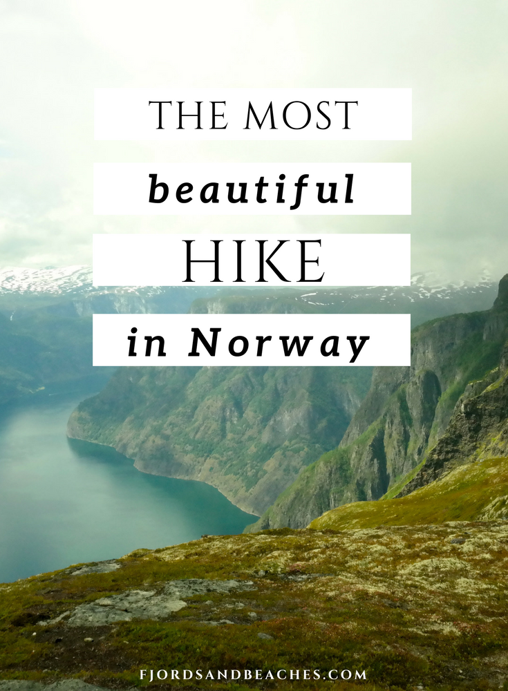 Norway has many beautiful hikes. This is the most beautiful hike in Norway.