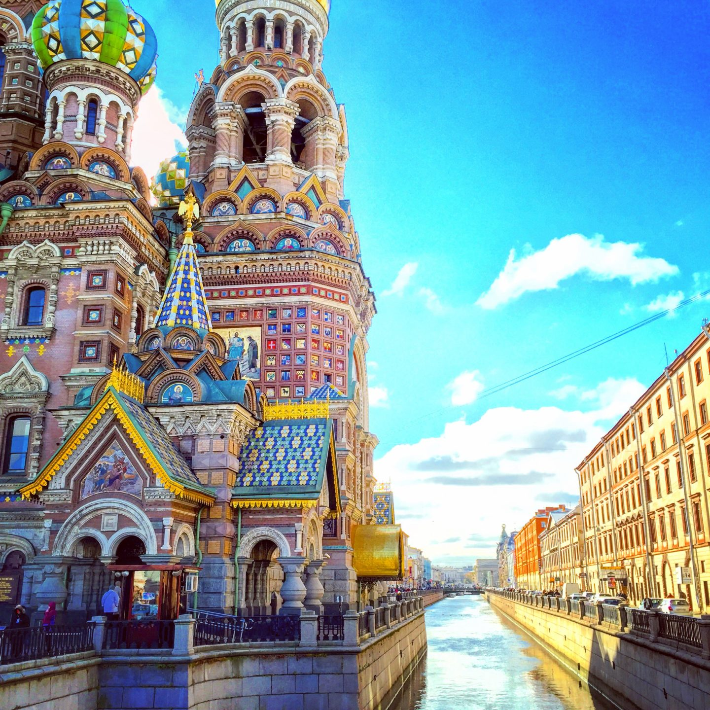 The Church of the Saviour on Blood, St. Petersburg
