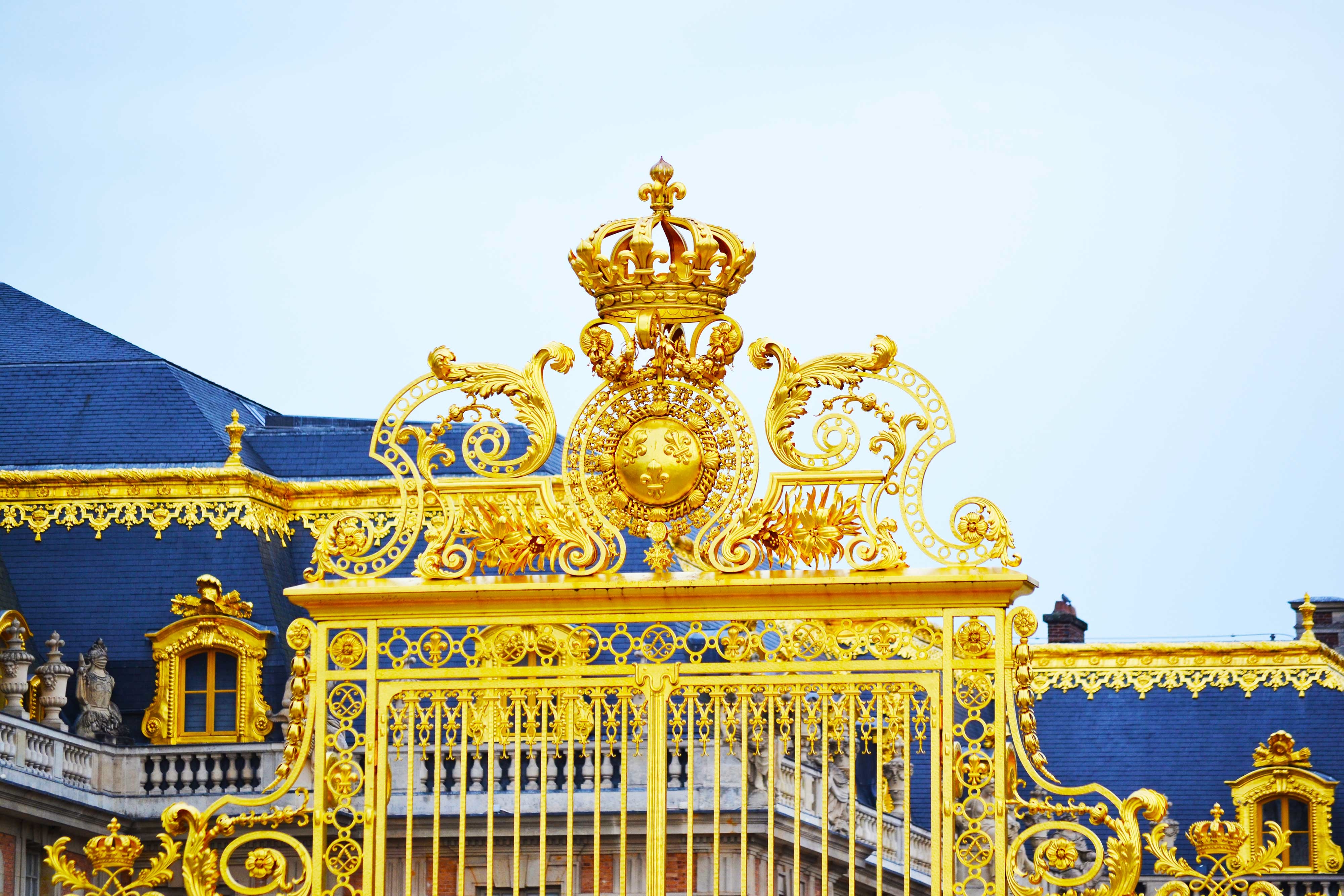 Visiting the Palace of Versailles, France