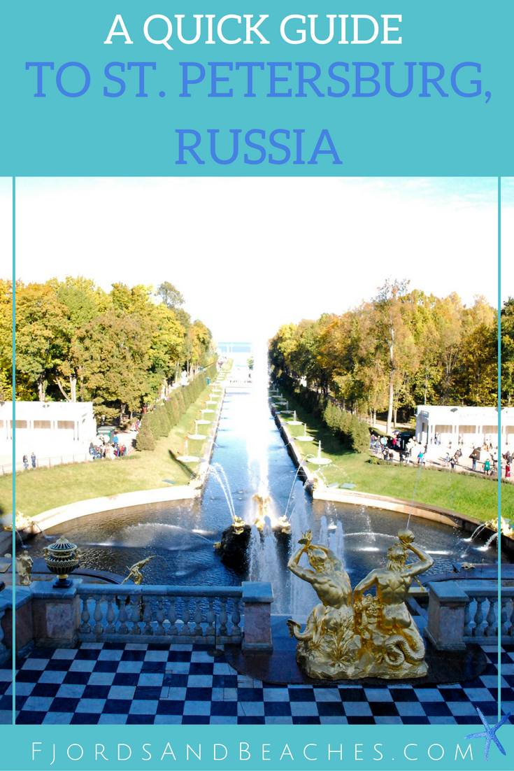 Guide to St. Petersburg, Russia