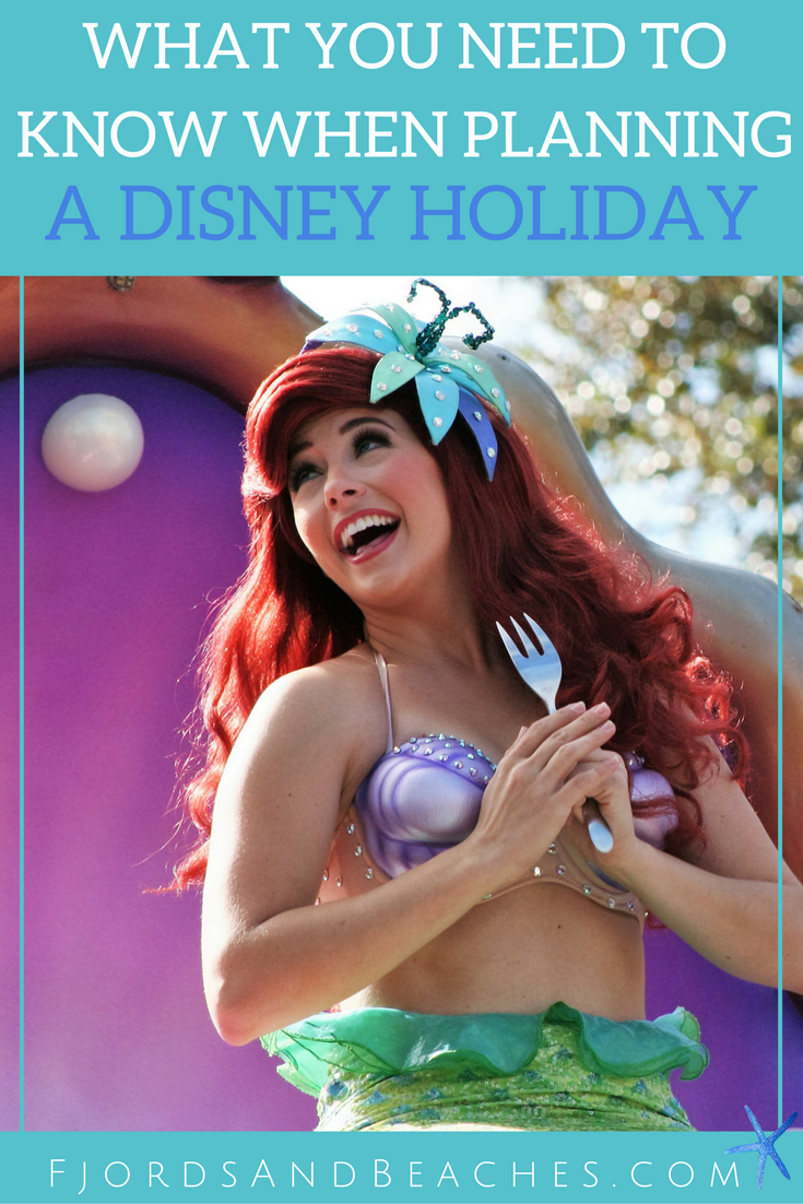 Things you need to know when planning a Disney holiday