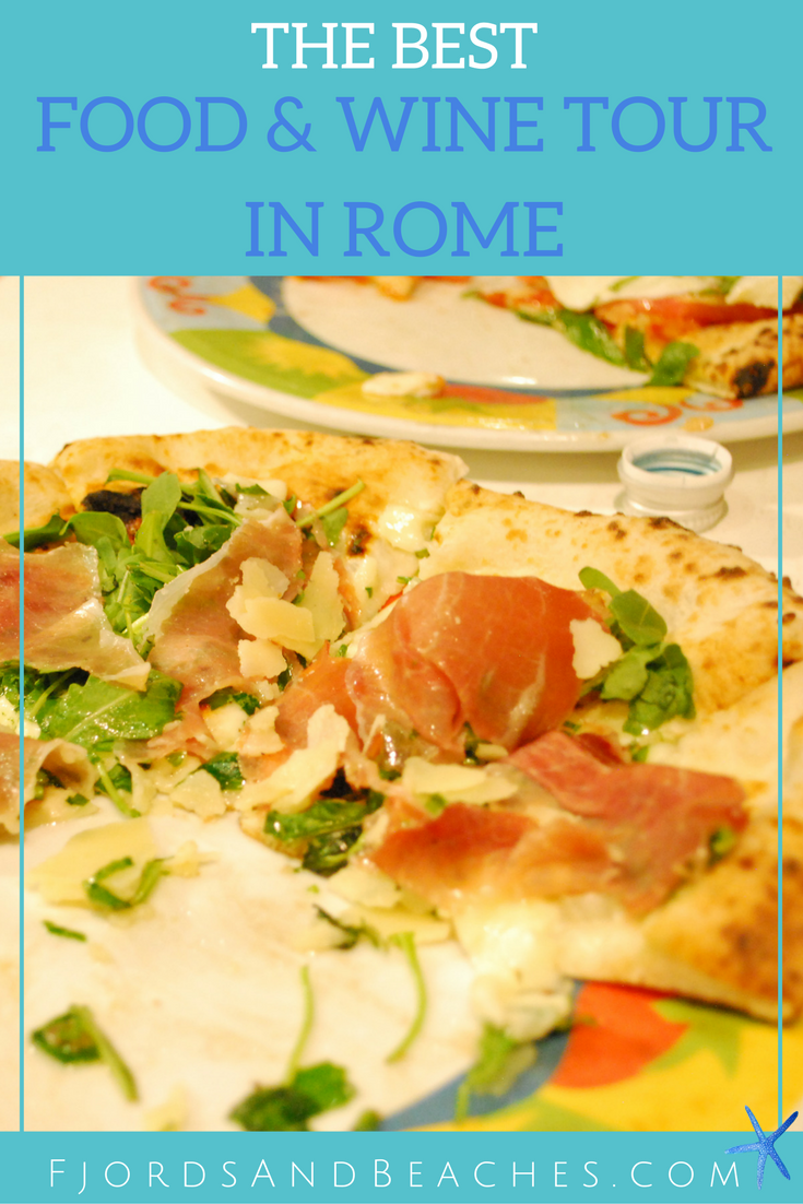 the best food tour in Rome, Italy
