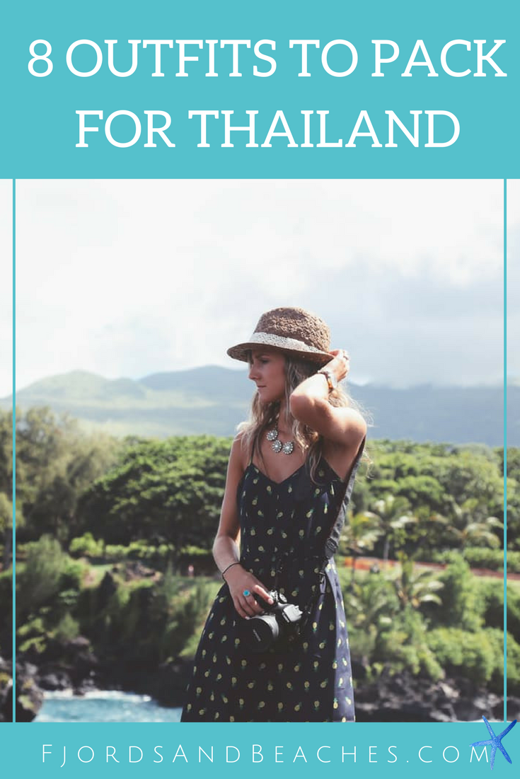 What to wear in #Thailand – 8 outfits to bring to Thailand for your trip! #PackingGuide #Travel
