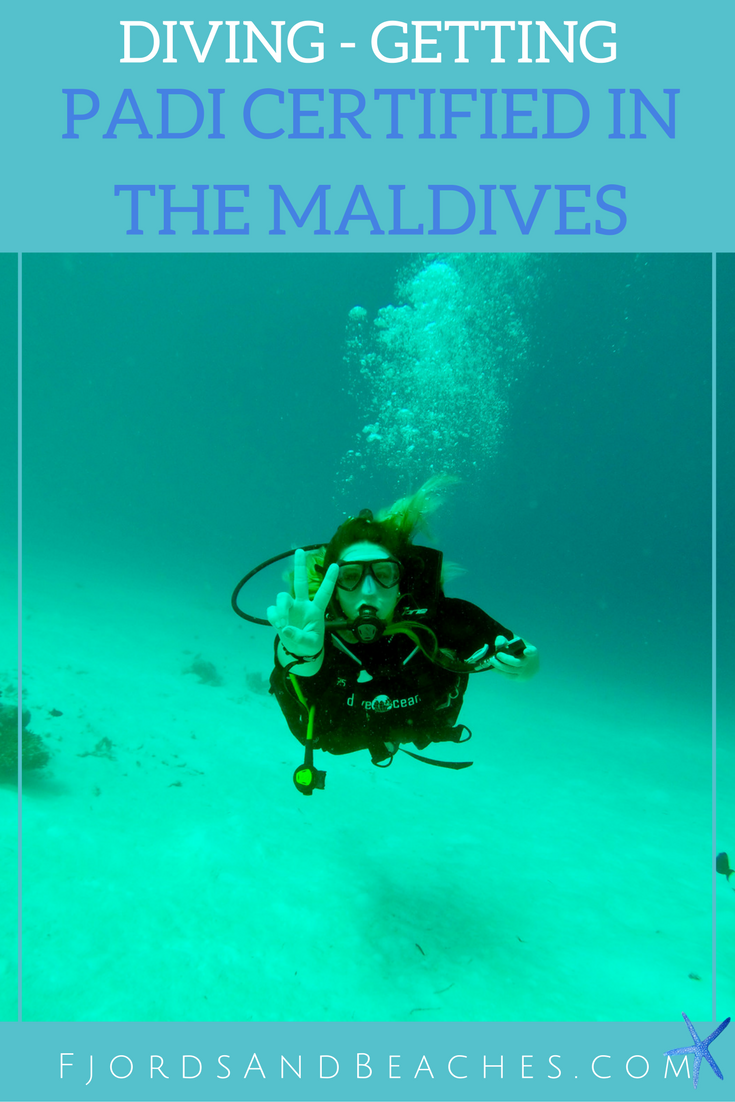 Getting Padi Scuba Diver Certified In The Maldives Fjords Beaches