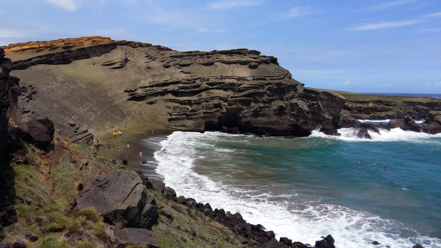 Planning a trip to Hawaii green sand beach