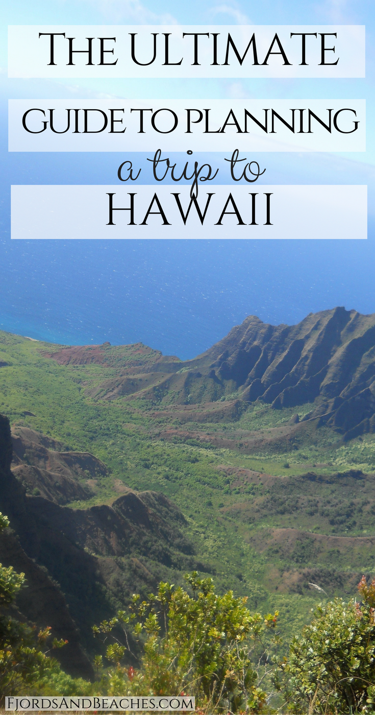 Guide to planning a trip to Hawaii