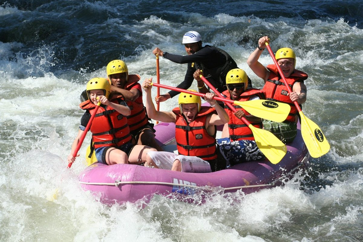 How to Survive your First White Water Rafting Experience