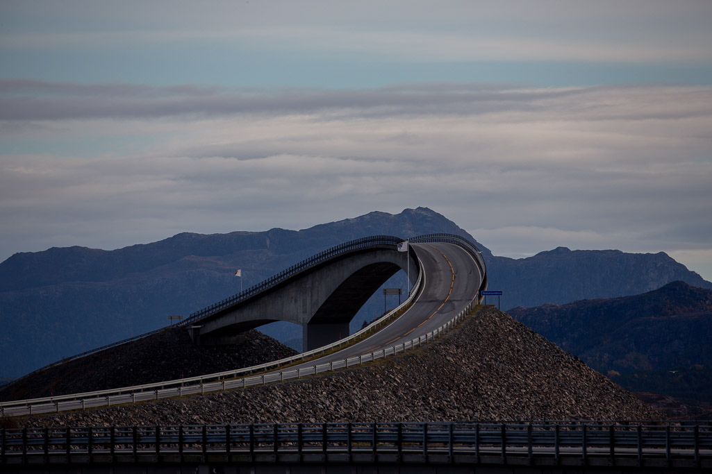 best places to visit in norway, the atlantic road