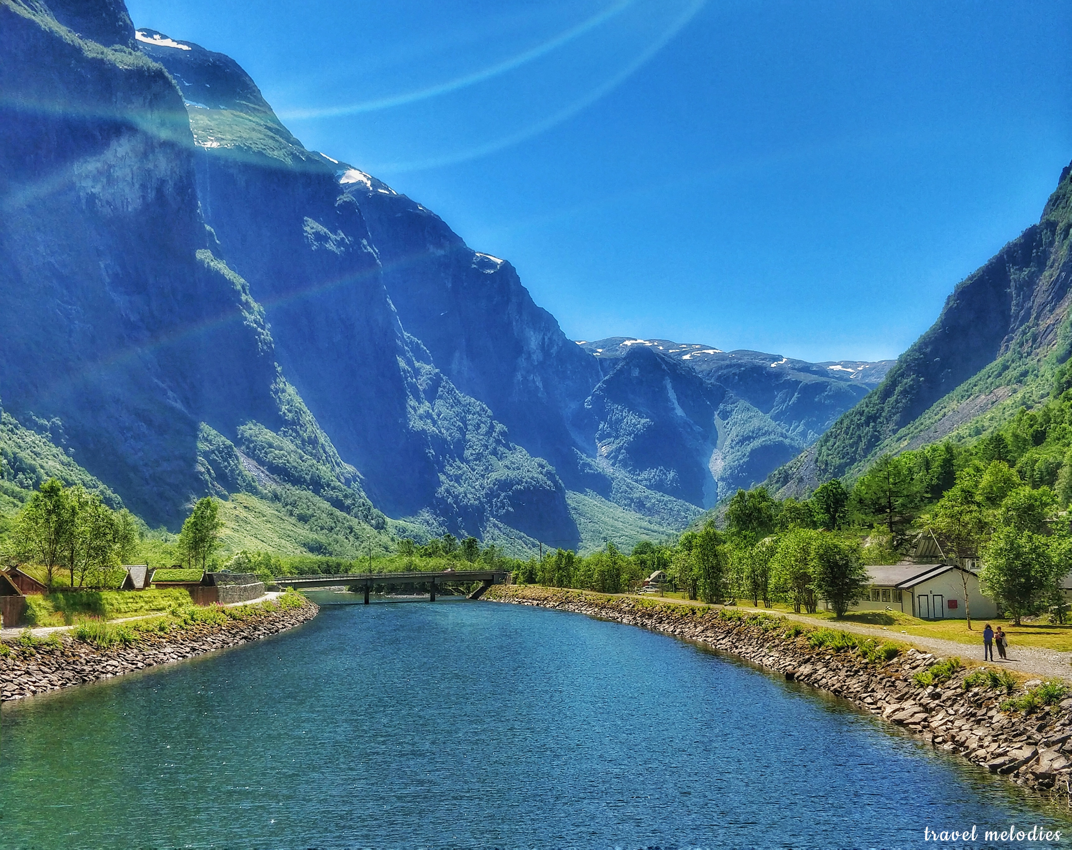 visiting the nærøyfjord in Norway, one of the best places to go in Norway