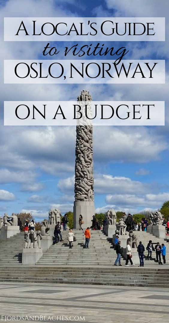 Visiting Oslo on a budget. If you are heading to Norway and hope to visit Oslo without breaking the bank, thins post is for you! #Oslo #BudgetTravel #VisitNorway #Norway