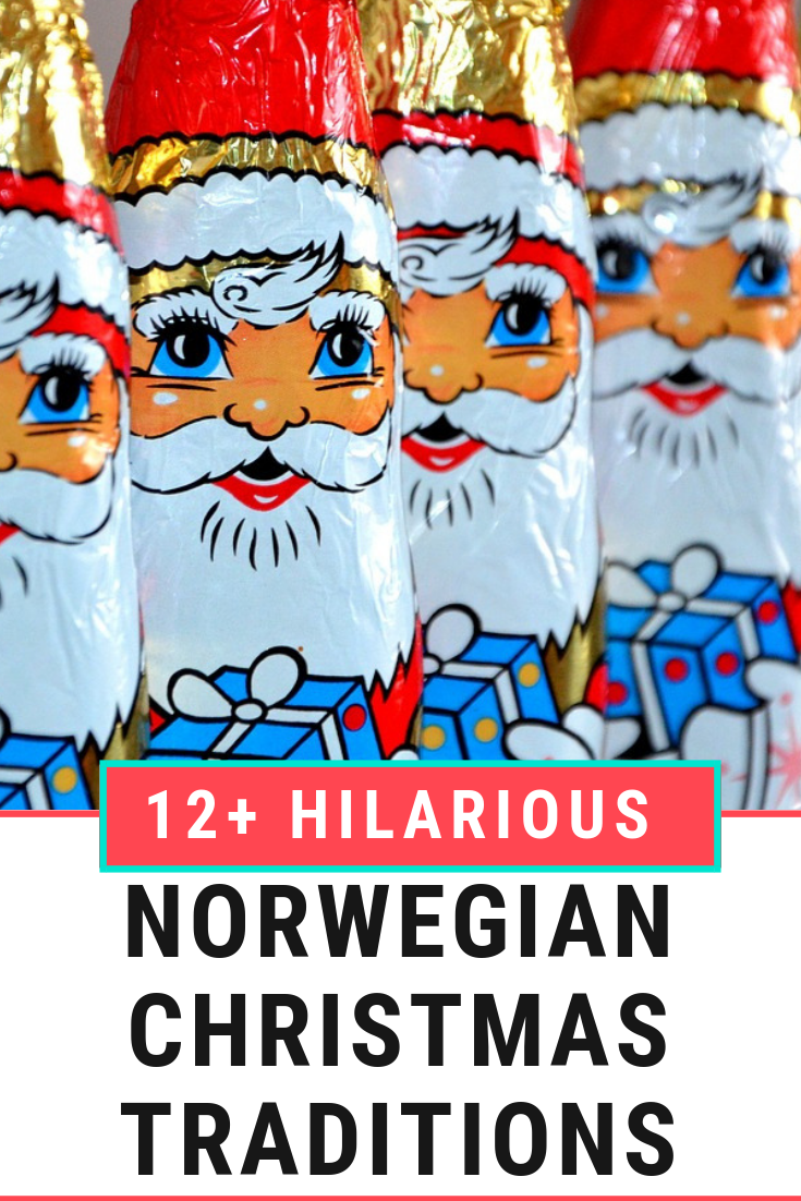 Hilarious Norwegian Christmas traditions and how we celebrate Christmas in Norway. #Norway #Christmas #VisitNorway #Scandinavia #ChristmasTraditions