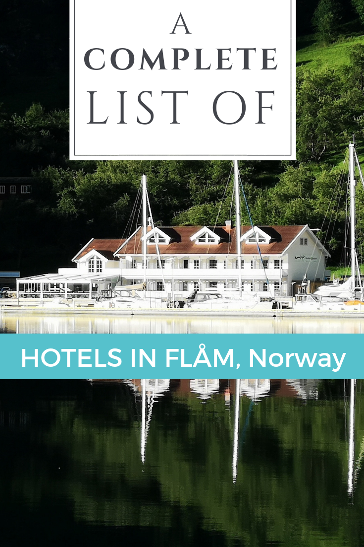 A complete list of hotels in Flåm / Flam, Norway to help you book your stay today - written by a local! #VisitFlam #Flam #VisitNorway #Norway