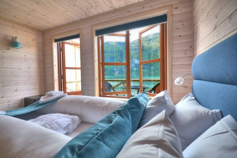 Hotels near flam norway, vangsgaarden cabins with a fjord view
