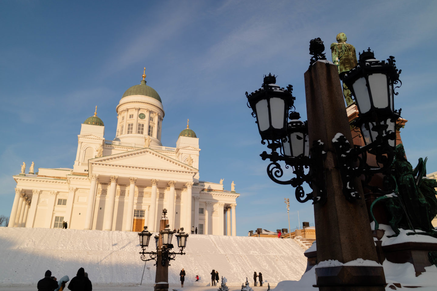 One day in Helsinki - the Helsinki Cathedral