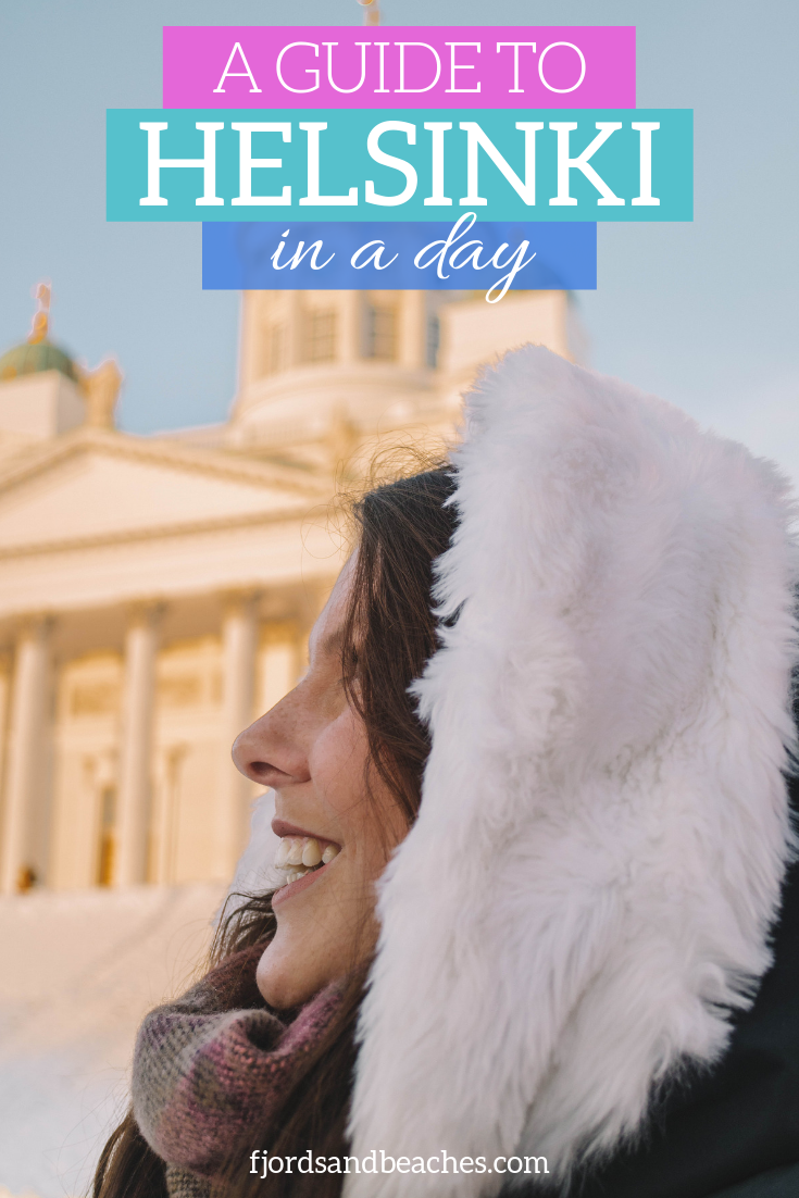 Trying to see Helsinki in a day? Here's everything you need! How to see Helsinki in one day, guide to spending one day in Helsinki. #Helsinki #Finland