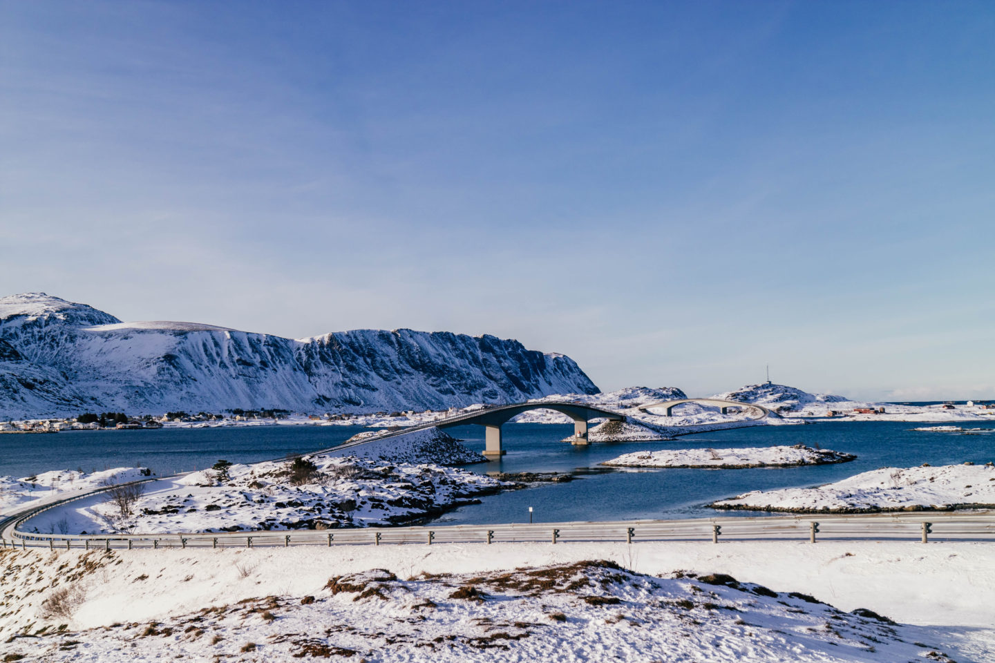 The Fredvang Bridges, Lofoten