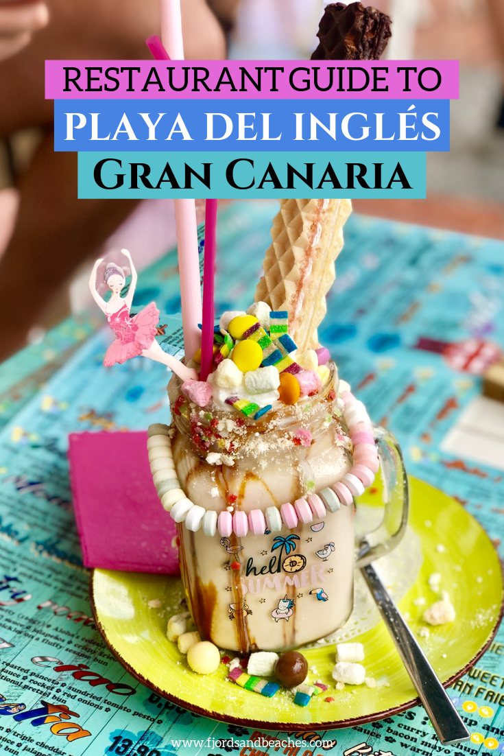 A guide to restaurants in Playa del Ingles and Maspalomas restaurants. If you are heading to Gran Canaria and are looking for a restaurant playa del ingles, read this! #GranCanaria #VisitSpain #Spain #Travelguide