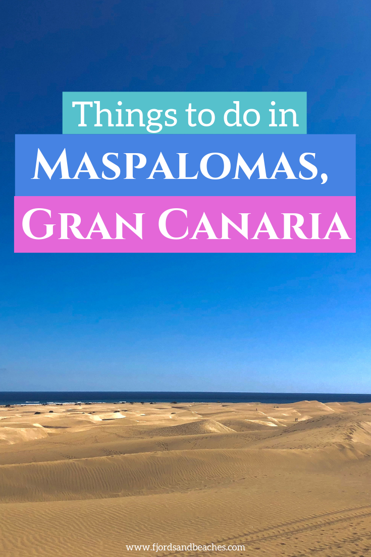The ultimate guide to things to do in maspalomas and things to do in playa del ingles, gran canaria - here's everything you need for your trip to the Canary Islands. #VisitSpain #GranCanaria #VisitGranCanaria