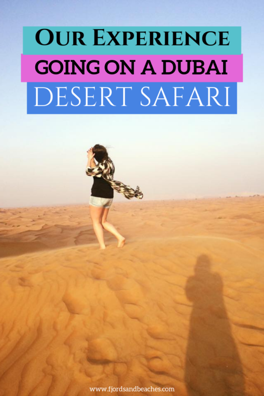 Struggling to pick from the best Dubai excursions? Here's our experience of the best desert safari Dubai! #Dubai #Desert