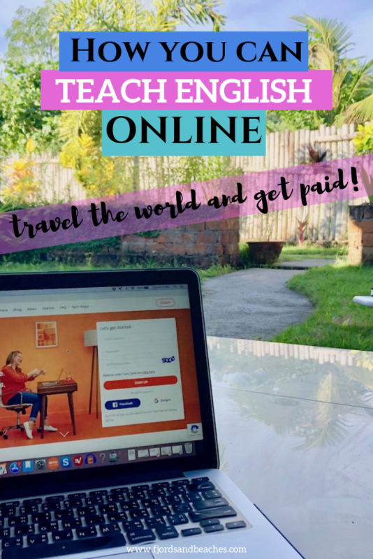 A guide for those who want to teach english online and get paid, including a list of online english teaching companies! If you want to teach english online with no degree, this is the guide for you! #TeachEnglish #OnlineTeaching