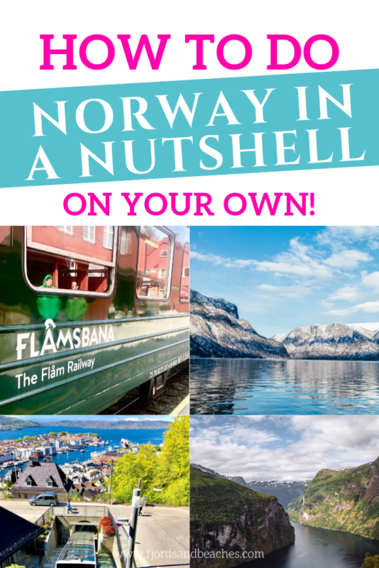 A complete guide to doing the Norway in a Nutshell tour on your own, created by a local! #VisitNorway #Norway