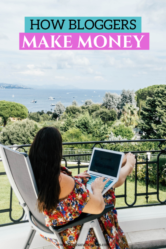 Breaking down exactly how bloggers get paid and make money. #TravelBlog If you are curious about blogging and starting a blog, you should read this post about how do bloggers get paid.