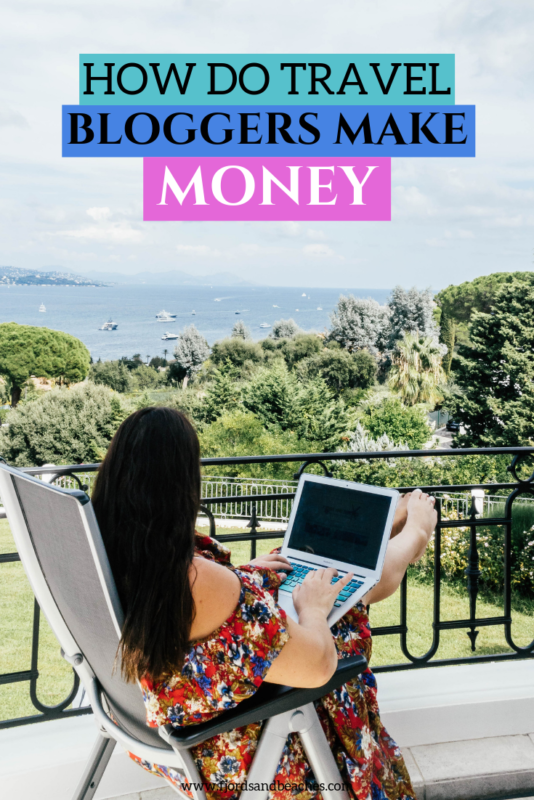 Breaking down exactly how bloggers get paid and make money. #TravelBlog If you are curious about blogging and starting a blog, you should read this post about how travel bloggers make money..