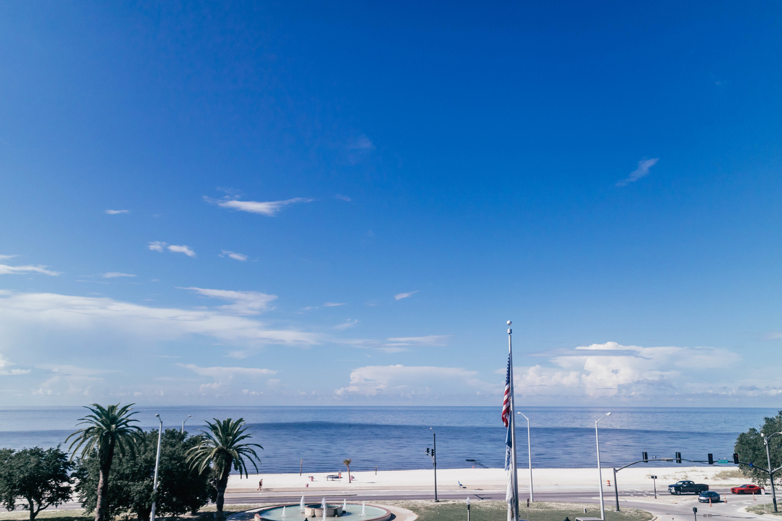 rooftop view white house hotel biloxi ms