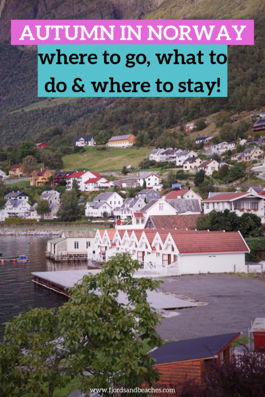 a guide to visiting norway in aurumn, where to stay, where to go, what to do. #Norway #VisitNorway #fjords