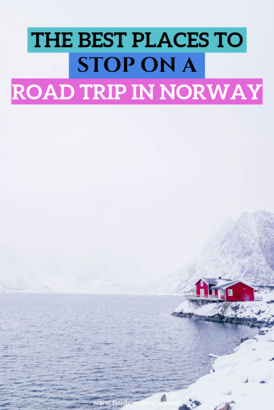 where to stop on a road trip in Norway. Don't miss these destinations on your Norway road trip. #Norway #VisitNorway #RoadTrip