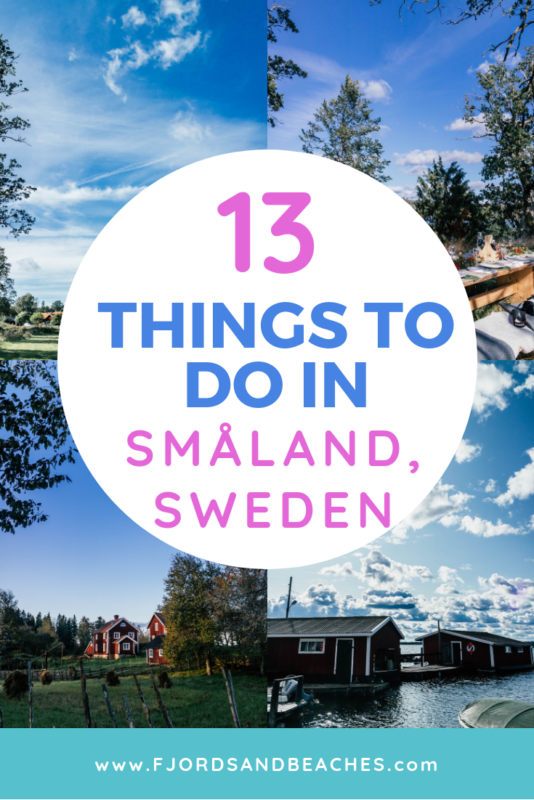 Don't miss these things to do if you are visiting Småland! #VisitSweden #Sweden