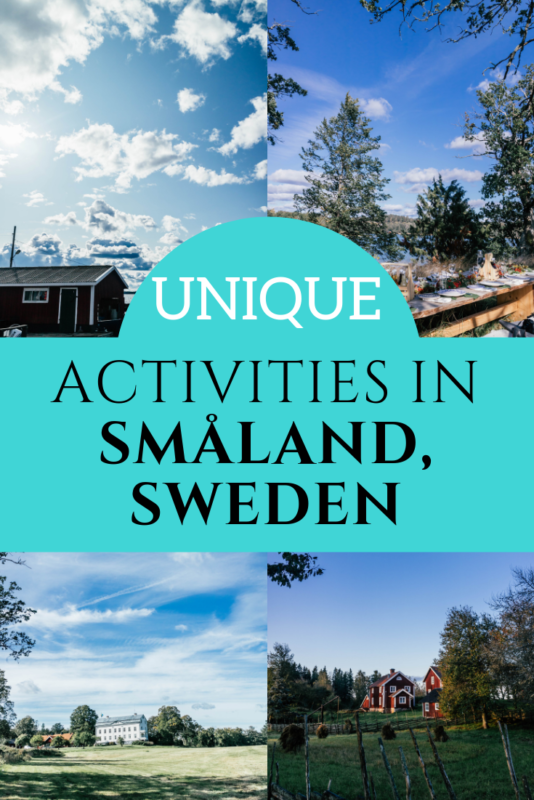 Unique and fun activities in Småland, Sweden for all ages. #VisitSweden #Travel