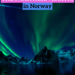 If you are wondering what the best time to see the Northern Lights in Norway (or the Aurora Borealis as they are also known as), this is the article for you. #Norway
