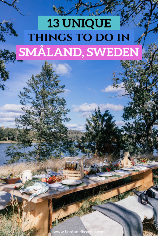 13 unique things to do in småland, sweden for your trip. #Sweden #VisitSweden #Travel
