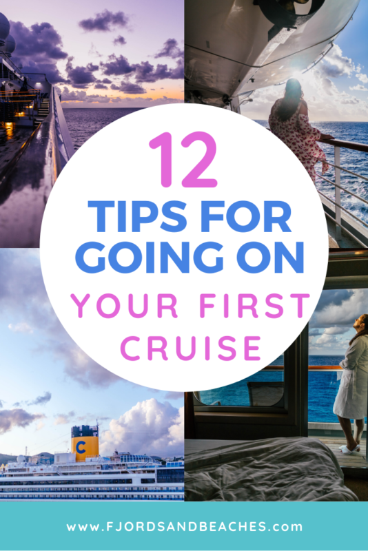 First time cruise tips and tricks. If you have never been on a cruise before, this post is for you!