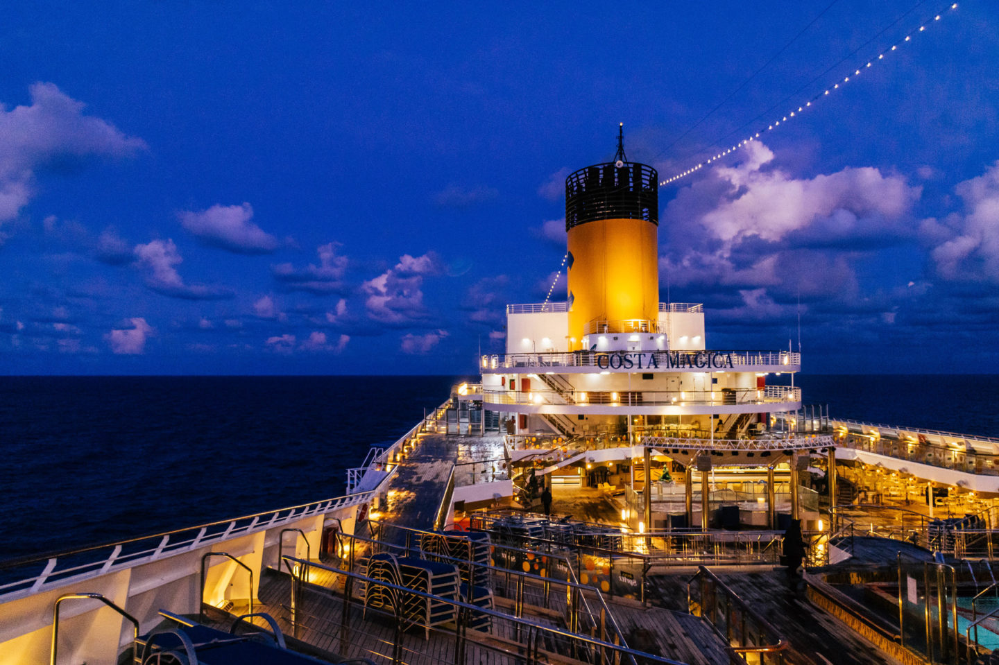cruise advice for first timers, costa mediterranean