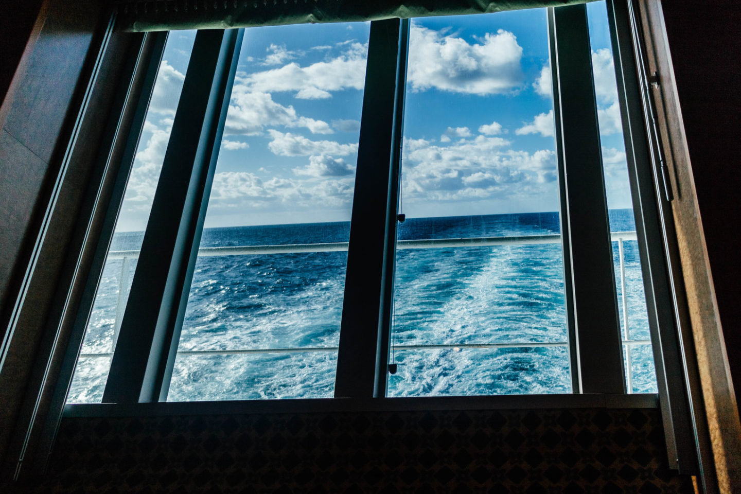 first time cruise questions, back of a cruise ship