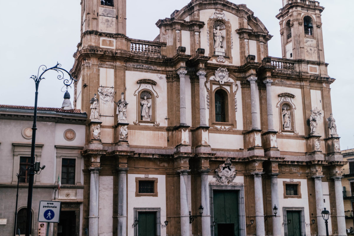 palermo sightseeing, the san domenico church