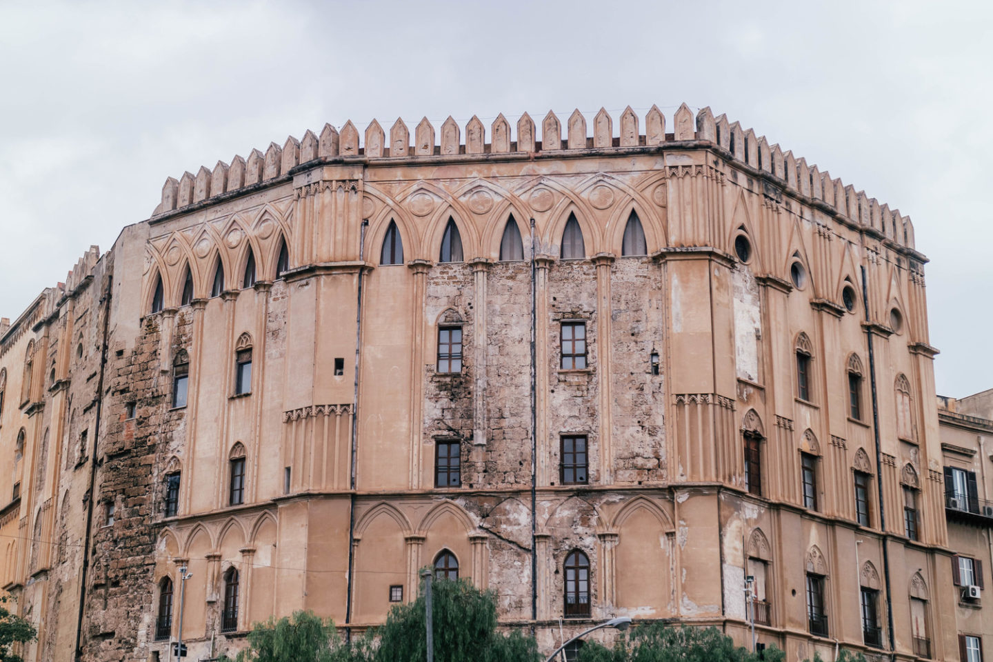 what to do in palermo, the palazzo exterior