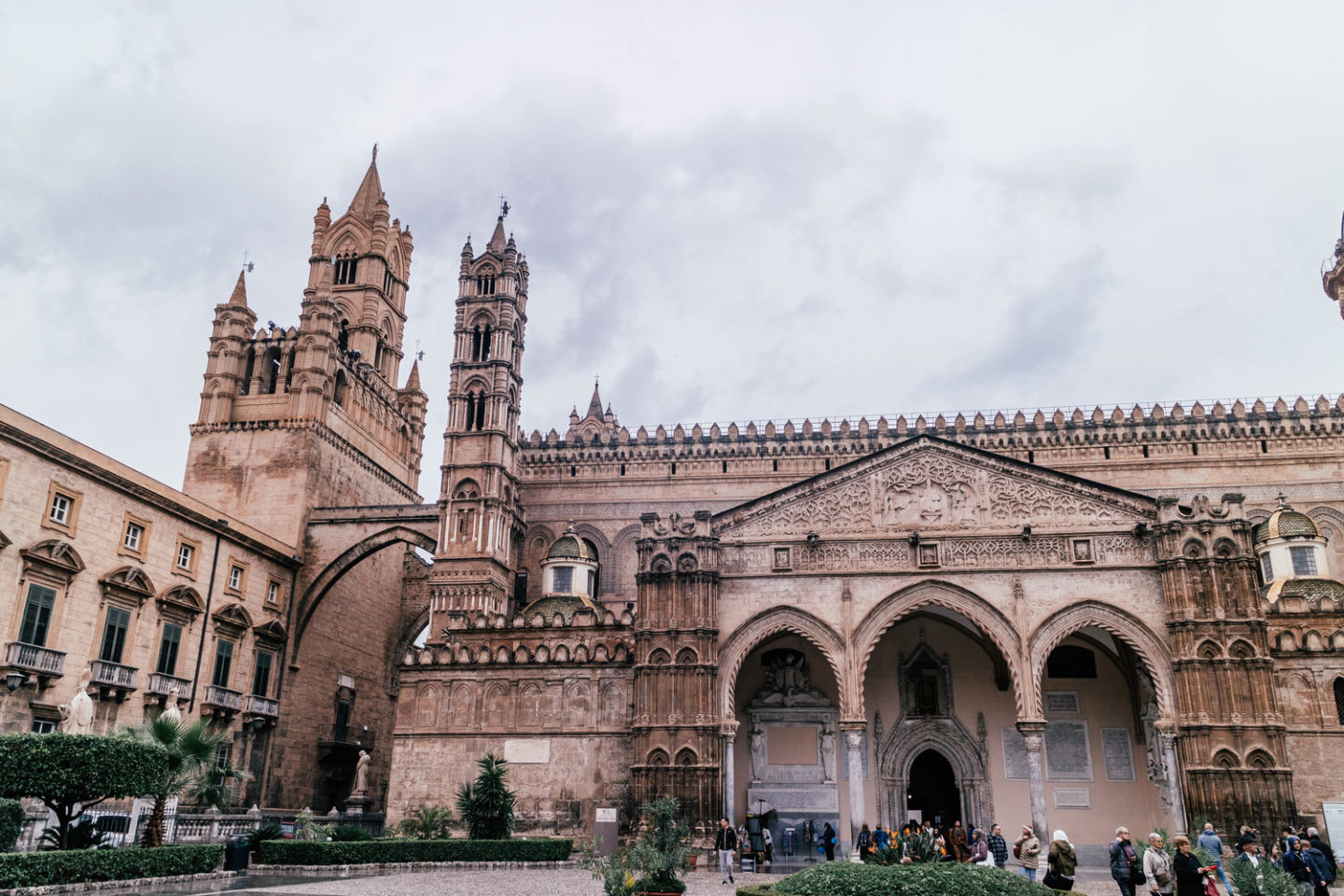 the cathedral of palermo, italy
