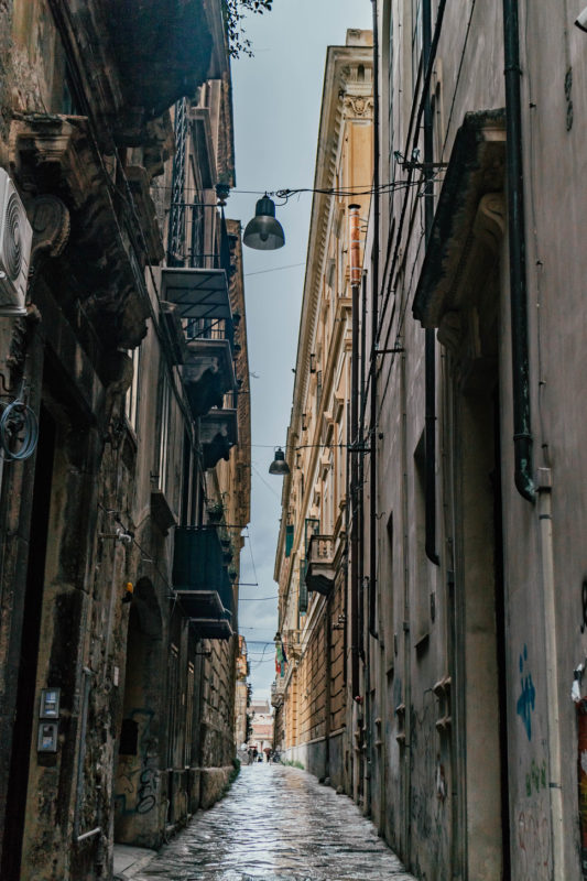 streets of palermo, sicily