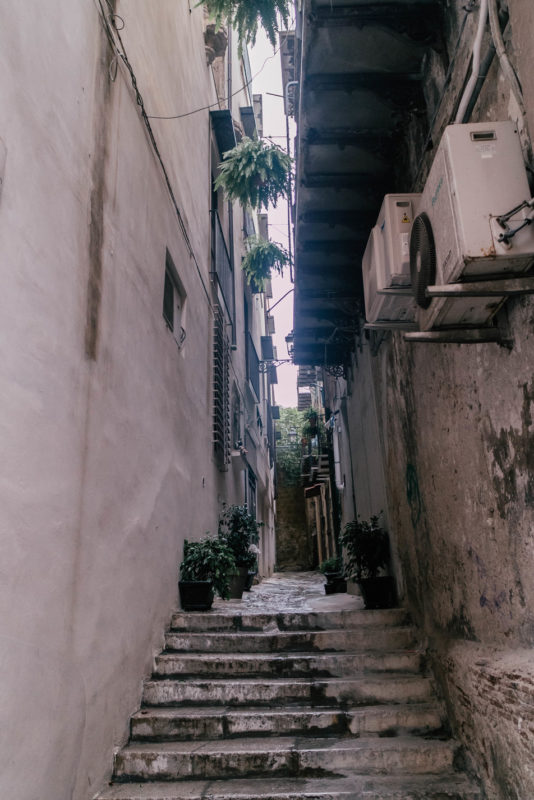 street in palermo, italy