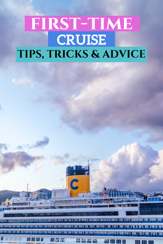 A guide to going on a cruise for the first time, for anyone looking for first time cruise tips! #Cruise #Travel #Tips