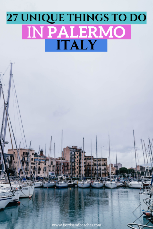 Palermo, Italy guide. 27 activities and fun things in Palermo. #Travel #Italy