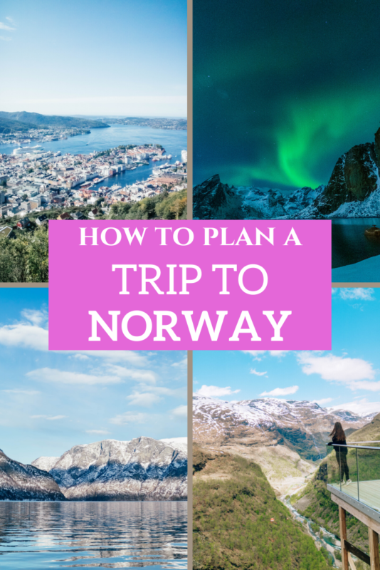 An easy guide to planning your perfect Norway holiday. #norway