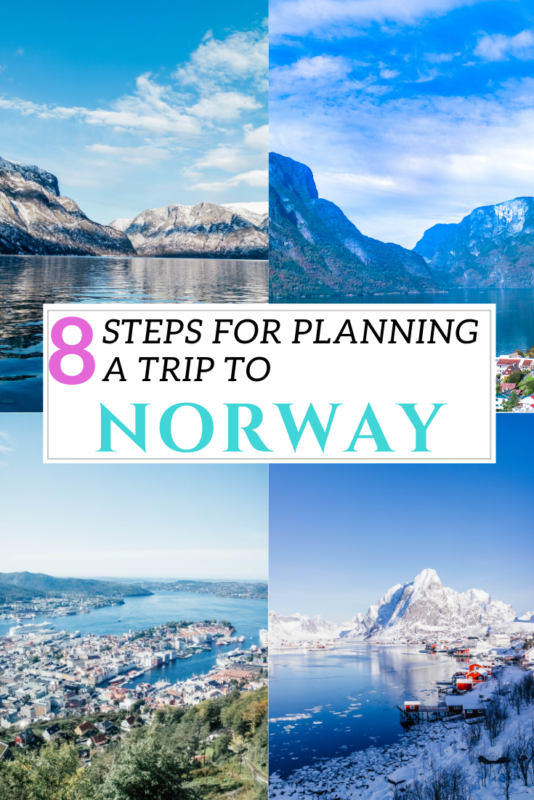 My step-by-step guide to Norway trip planning. Plan your trip to Norway in 8 easy steps with this guide! #Norway #Travel #VisitNorway