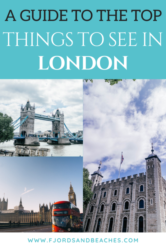 7 Must-see Sights in London, UK! Don't miss this list of things to see in London for your first visit, they are absolute musts. #Travel #London #CityGuide