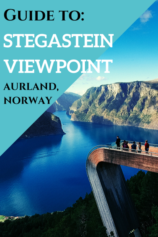 A quick guide to visiting the Stegastein viewing platform in Aurland, #Norway! #Travel #Fjords