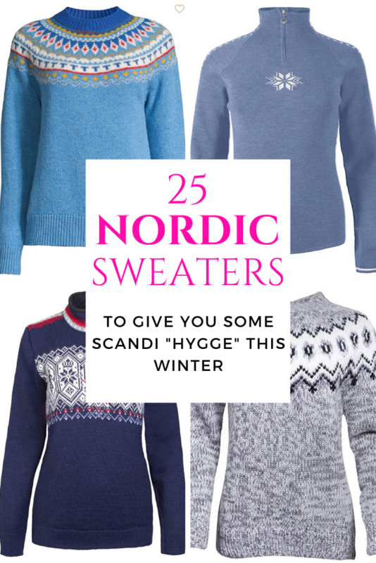 Warm, wool, knitted and cosy. These 25 sweaters from Scandinavia will keep you warm all winter. If you are looking for Scandinavian fashion, this is it.