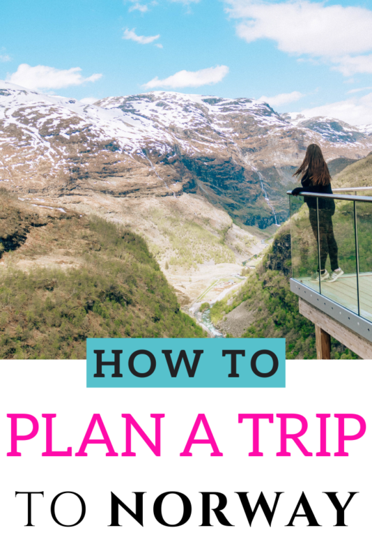 How to plan your trip to Norway: the ultimate guide! #VisitNorway #Norway